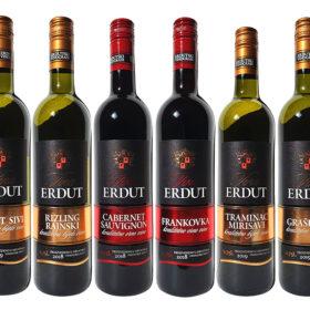 Proefpakket witte en rode wijn uit Kroatie
