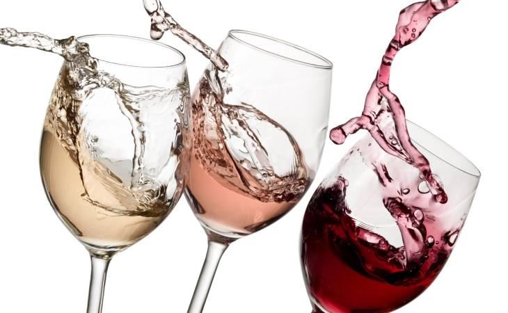 Wijn proefpakken en wijnglazen